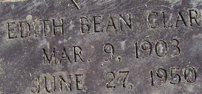 Edith Bean Clark
