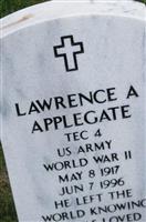 Lawrence A Applegate