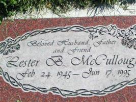 Lester B McCullough