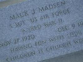 Mack J Madsen