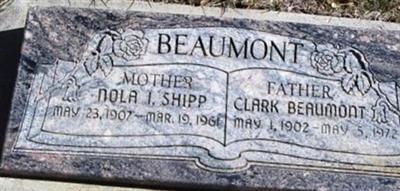 Nola Irene Shipp Beaumont