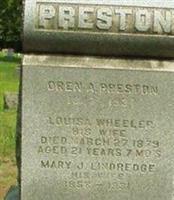 Oran A. Preston