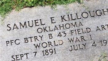 Samuel E Killough