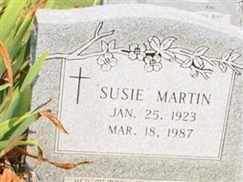 Susie Bell Martin