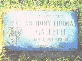 Anthony T Galletti