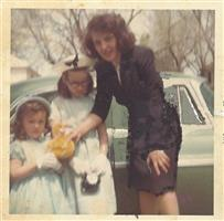 Easter 1965 Mom Becky Cordy