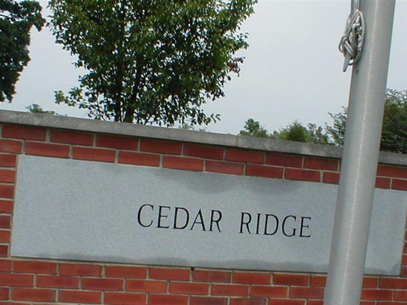 Cedar Ridge Cemetery Sysoon Funeral Directory En