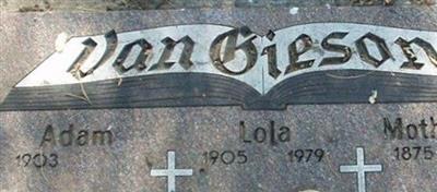 Adam Van Gieson