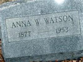 Anna W. Watson