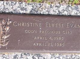 Christine Elyese Evans