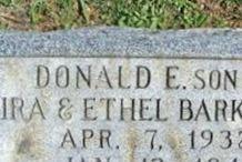 Donald E. Barkdoll