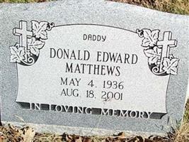 Donald Edward Matthews