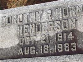 Dorothy R Horner Henderson