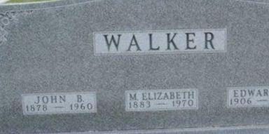 Edward G Walker