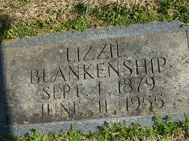 """Mary Elizabeth """"Lizzie"""" Miller Blankenship"""