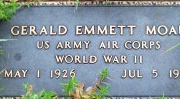 Gerald Emmett Moak