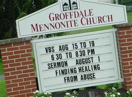 Groffdale Mennonite Brick Church Cemetery