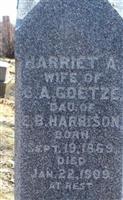 Harriet A. Harrison Goetze