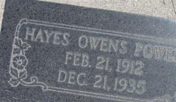 Hayes Owen Powell