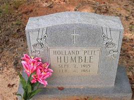 "Holland ""Pete"" Humble"