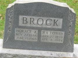 Horace A. Brock