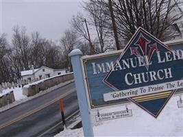 Immanuel Leidy's UCC Cemetery
