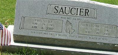 India Elizabeth Kelley Saucier