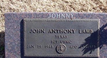 """John Anthony """"Johnny"""" Lamb"""