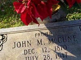 John M. McCune
