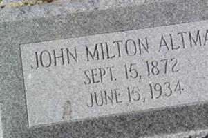John Milton Altman