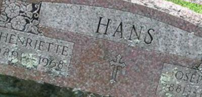 Joseph T Hans