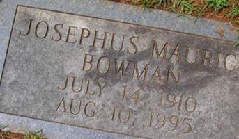 Josephus Maurice Bowman