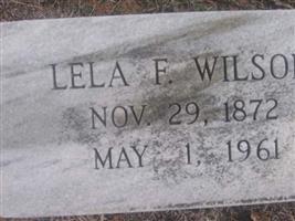 Lela F Wilson