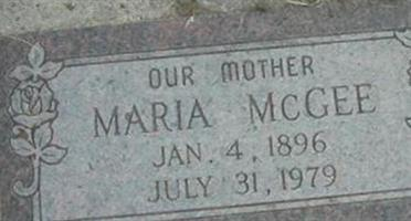 Maria McGee