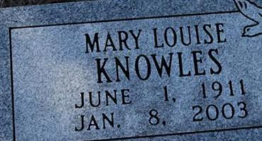 Mary Louise Knowles