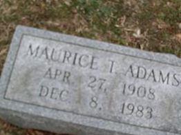 Maurice Tarbutton Adams