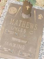 Maxine Jessie Nelson Mathews