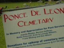Ponce de Leon Cemetery