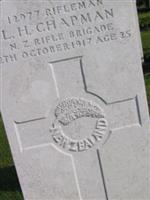 Rifleman Louis Hillyard Chapman