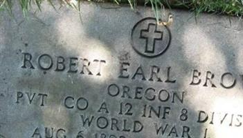Robert Earl Brown