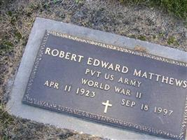 Robert Edward Matthews