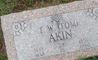 """T. W. """"Tom"""" Akin"""