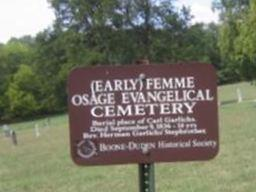 Femme Osage United Church of Christ Cemetery