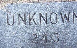 243 Unknown