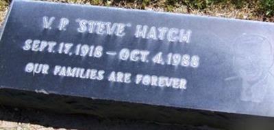"""V P """"Steve"""" Hatch"""