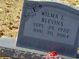 Wilma L Blevins