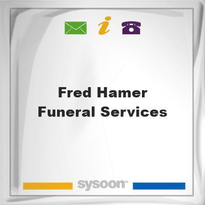 Fred Hamer Funeral Services, Fred Hamer Funeral Services