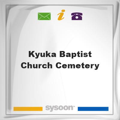 Kyuka Baptist Church Cemetery, Kyuka Baptist Church Cemetery