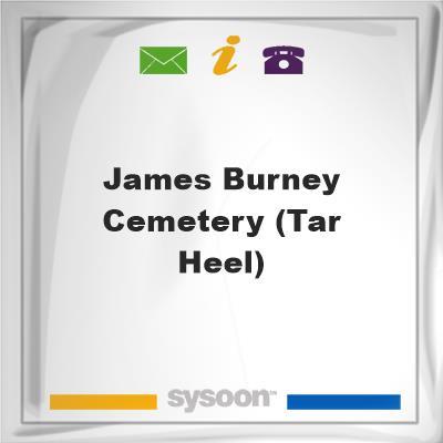 James Burney Cemetery (Tar Heel), James Burney Cemetery (Tar Heel)