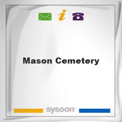 Mason Cemetery, Mason Cemetery